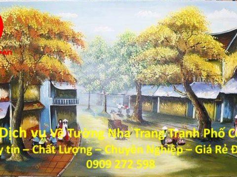 Vẽ Tranh Tường Phố Cổ Nha Trang