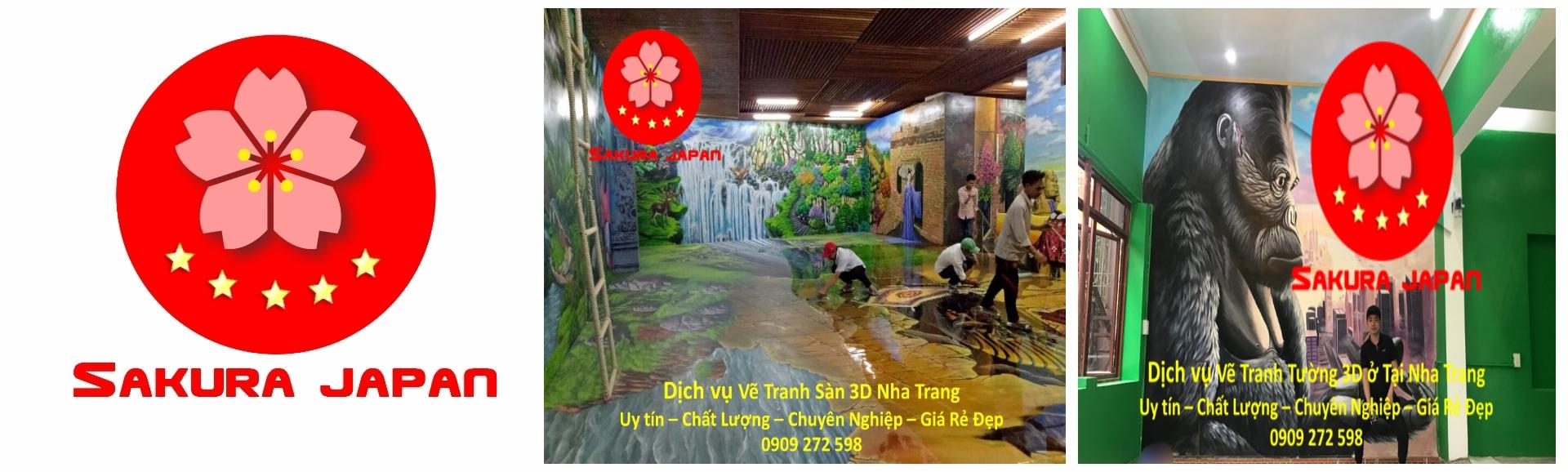 Vẽ Tường 3D Nha Trang