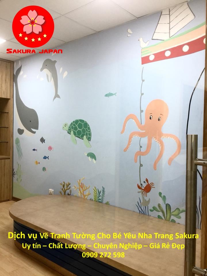 Dịch vụ Vẽ Tranh Tường Cho Bé Nha Trang Chuyên Nghiệp Nhất