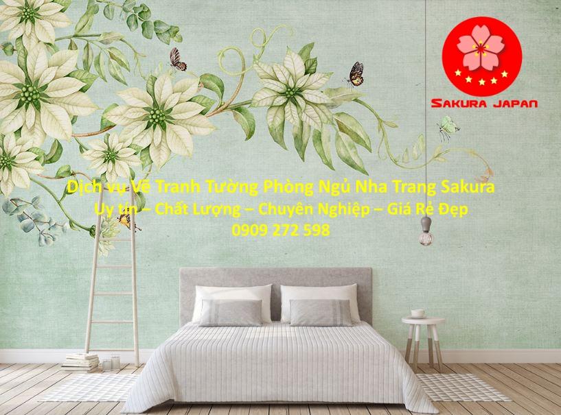 Dịch vụ Vẽ Tranh Tường Phòng Ngủ Nha Trang Giá Rẻ Đẹp Nhất
