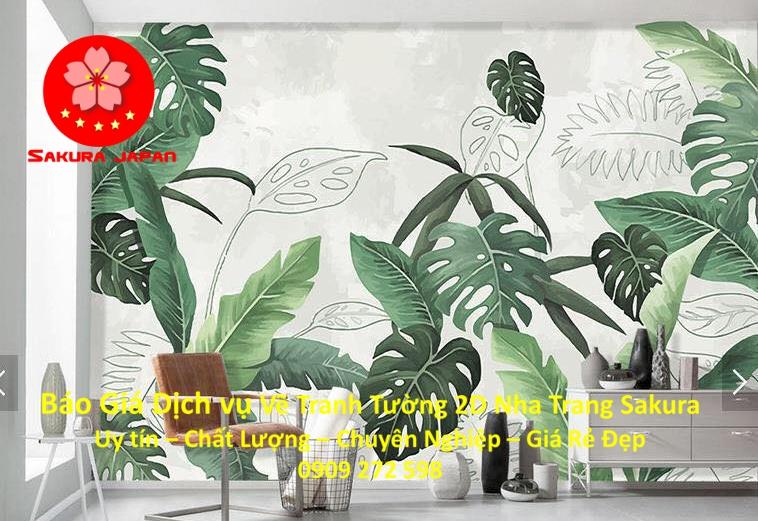 Báo giá Vẽ Tranh Tường 2D ở tại Nha Trang Nghệ Thuật Chuyên nghiệp Giá rẻ đẹp nhất 12