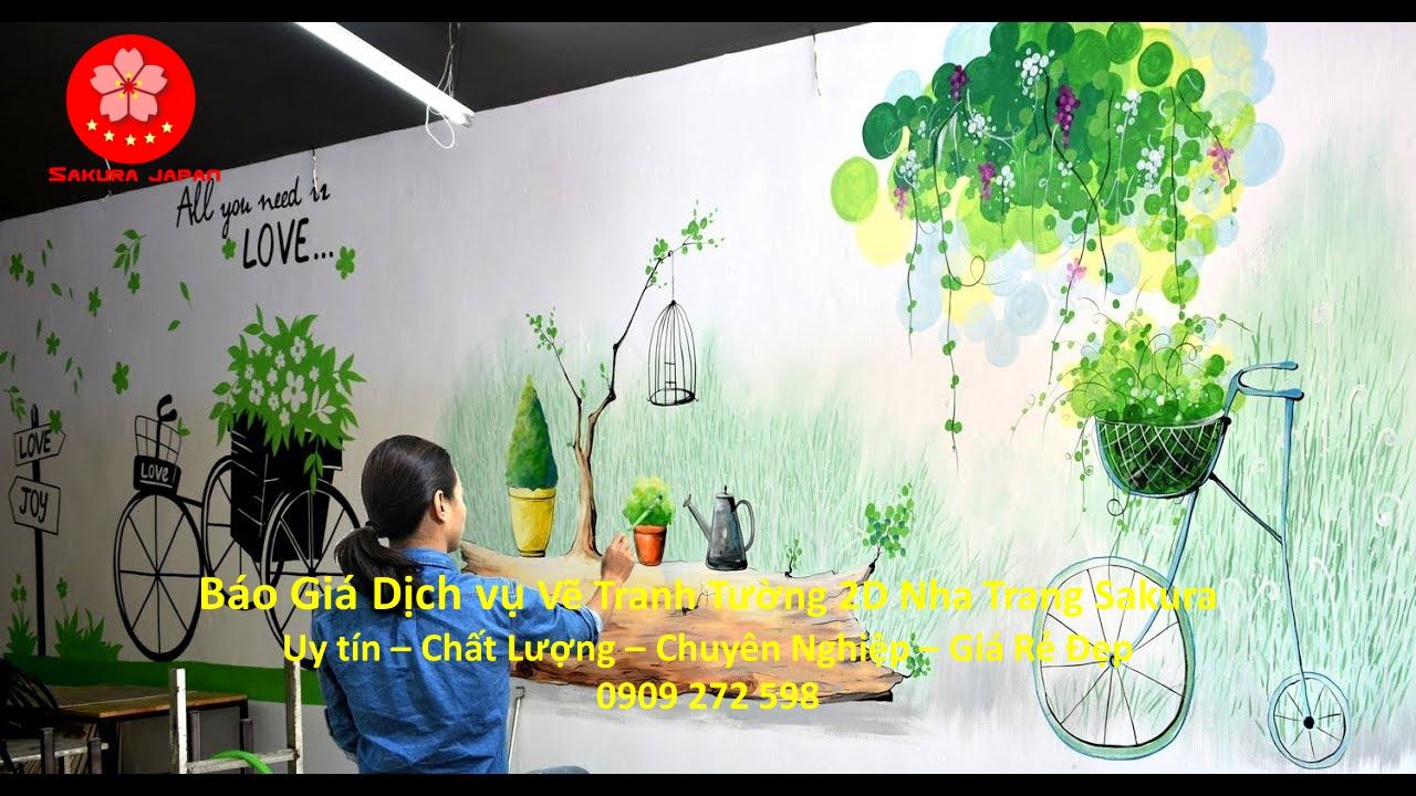 Bảng Báo giá Vẽ Tranh Tường 2D Nha Trang Nghệ Thuật Chuyên nghiệp Giá rẻ đẹp nhất 3