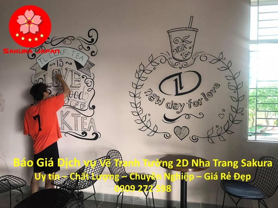 Báo giá Vẽ Tranh Tường 2D ở tại Nha Trang Nghệ Thuật Chuyên nghiệp Giá rẻ đẹp nhất 11