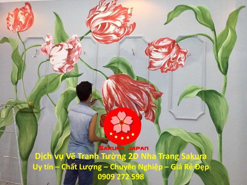 Dịch vụ Vẽ Tranh Tường 2D ở tại Nha Trang Nghệ Thuật Chuyên nghiệp Rẻ Đẹp Nhất 1