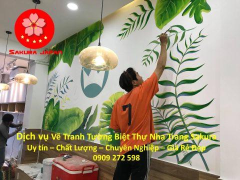 Vẽ Tranh Tường Biệt Thự Nha Trang