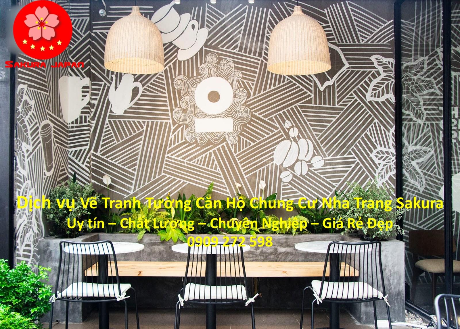 Vẽ Tranh Tường Căn hộ Chung Cư Nha Trang chuyên Nghiệp