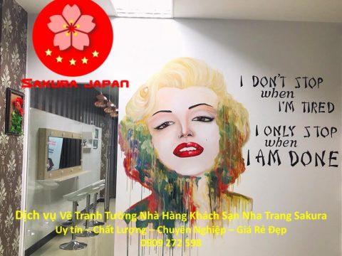 Vẽ Tranh Tường Nhà Hàng Khách Sạn Nha Trang