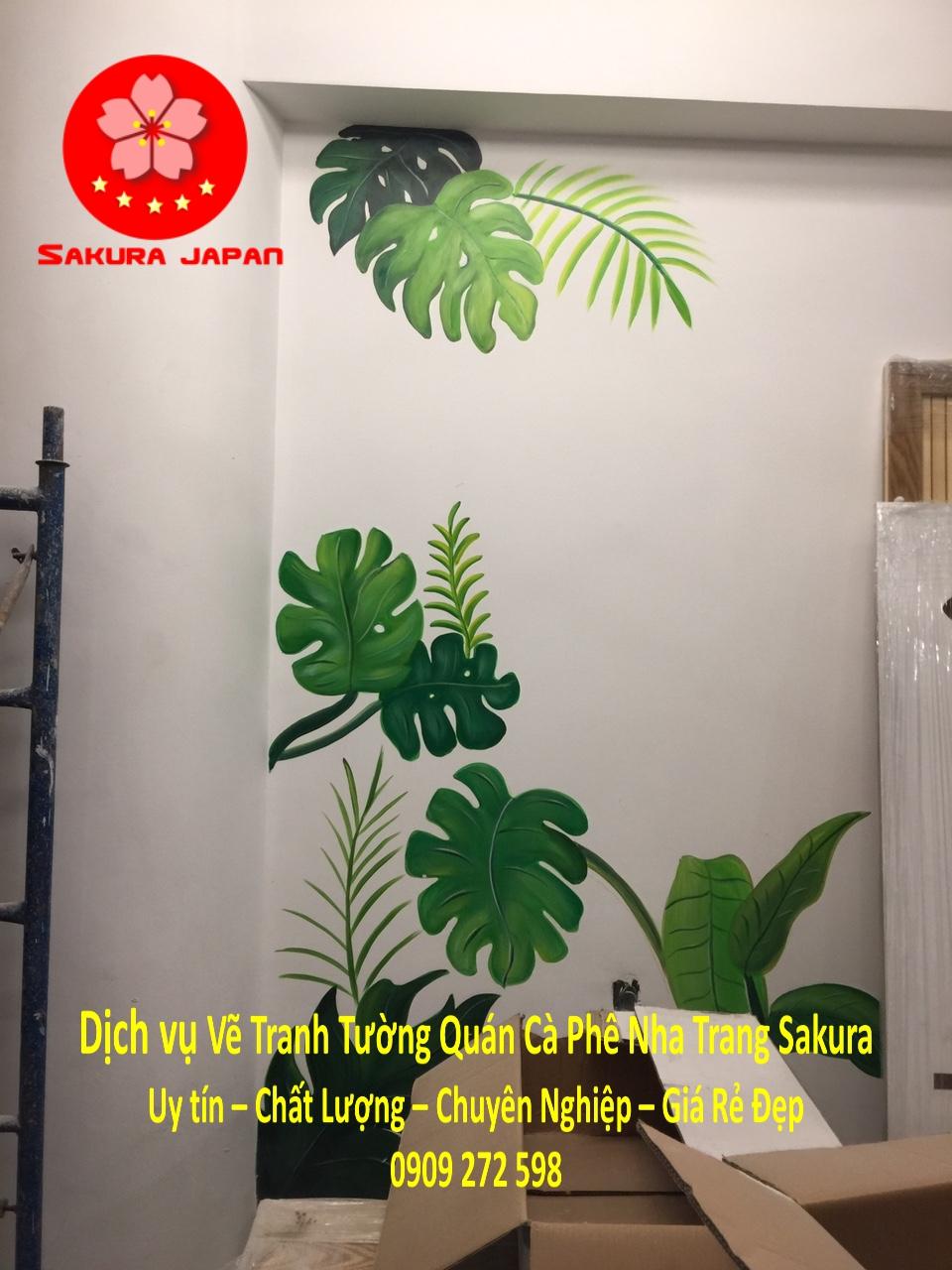 Dịch vụ Vẽ Tranh Tường Quán Cafe Nha Trang 3