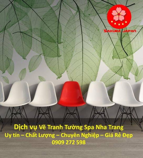 Dịch vụ Vẽ Tranh Tường Spa ở tại Nha Trang