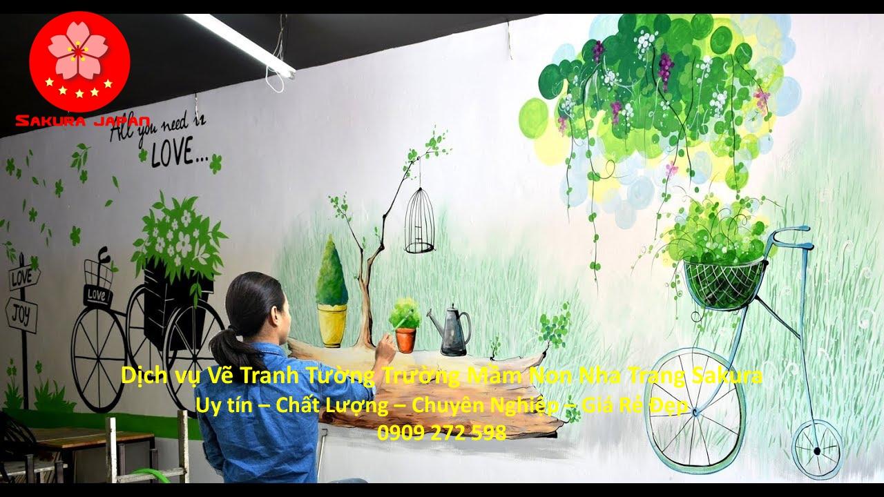 Vẽ Tranh Tường Trường Mầm Non tại Nha Trang Đẹp Nhất 5