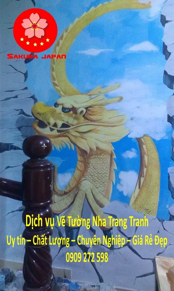 Vẽ Tường Nha Trang Chuyên Nghiệp Rẻ đẹp Nhất