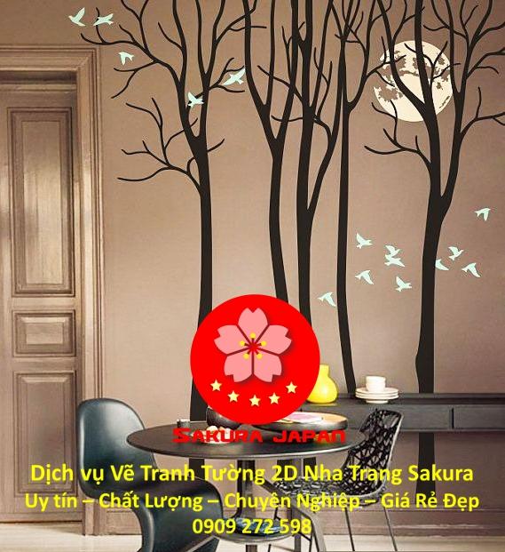 Dịch vụ Vẽ Tranh Tường 2D ở tại Nha Trang Nghệ Thuật Chuyên nghiệp Rẻ Đẹp Nhất