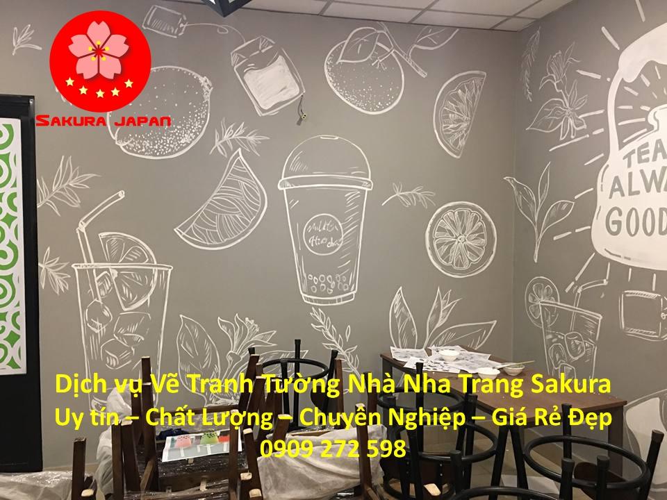 Dịch vụ Vẽ Tranh Tường Nhà Nha Trang Nghệ Thuật Chuyên nghiệp Rẻ Đẹp Nhất 2