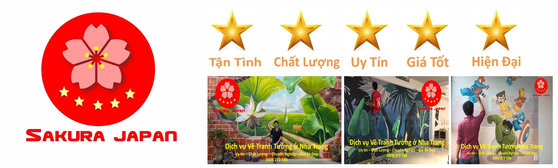 Vẽ Tranh Tường Nha Trang