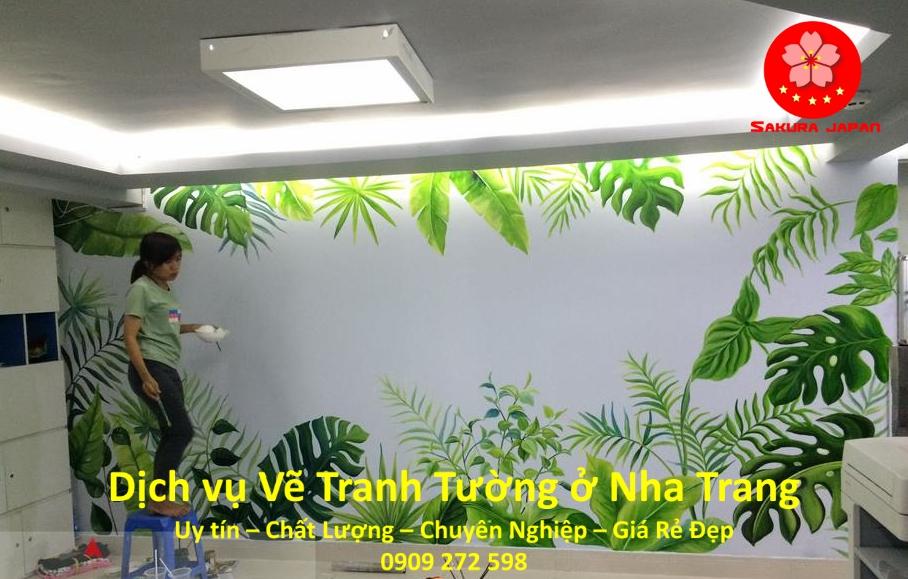 Dịch vụ Vẽ Tranh Tường Nha Trang Chuyên Nghiệp rẻ Đẹp Nhất