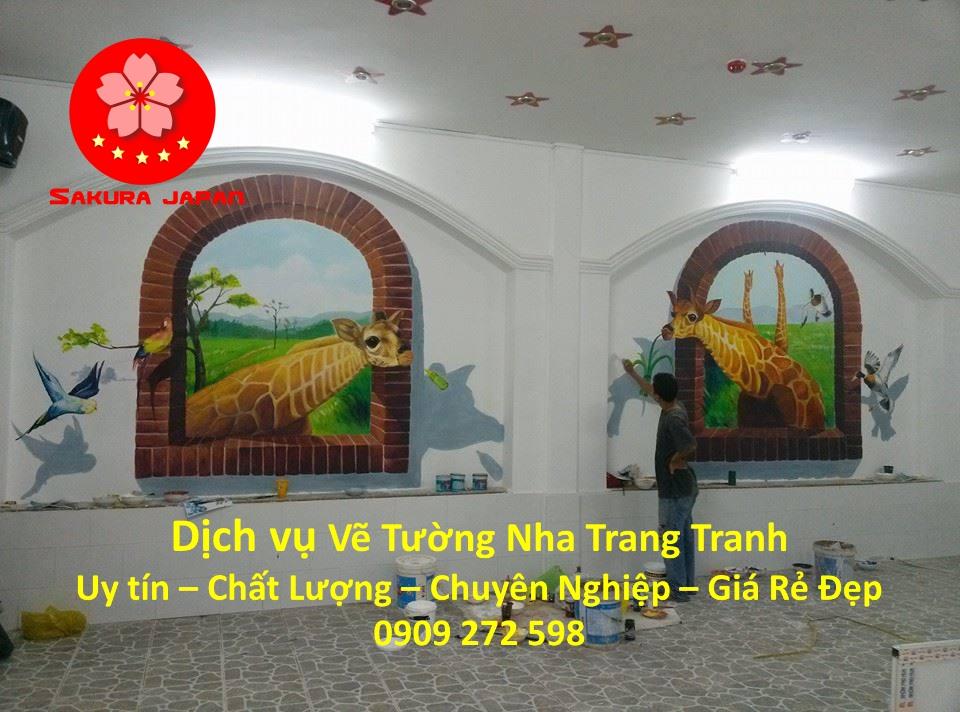 Vẽ Tường Nha Trang Chuyên Nghiệp Chuyên Nghiệp Nhất