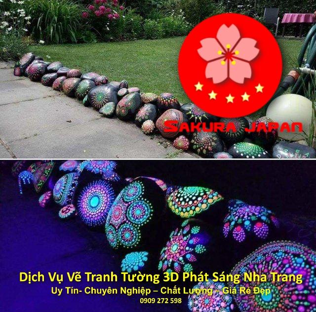 Dịch vụ Vẽ Tranh Tường 3D Phát Sáng ở tại Nha Trang