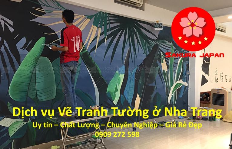 Dịch vụ Vẽ Tranh Tường Nha Trang Chuyên Nghiệp Rẻ Đẹp