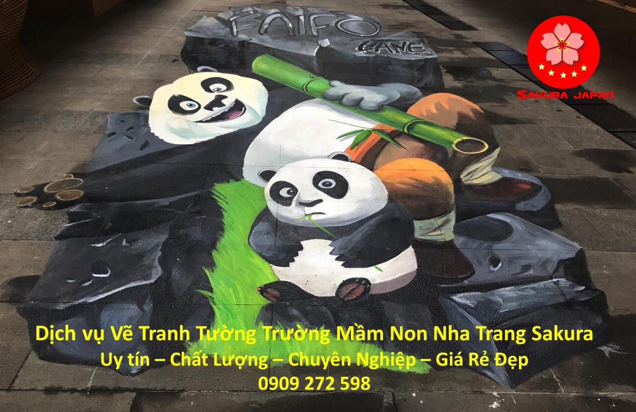 Dịch vụ Vẽ Tranh Tường Trường Mầm Non Nha Trang