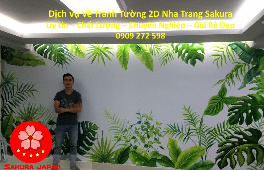 Dịch vụ Vẽ Tranh Tường 2D Nha Trang Nghệ Thuật uy tín Chuyên nghiệp Rẻ Đẹp Nhất