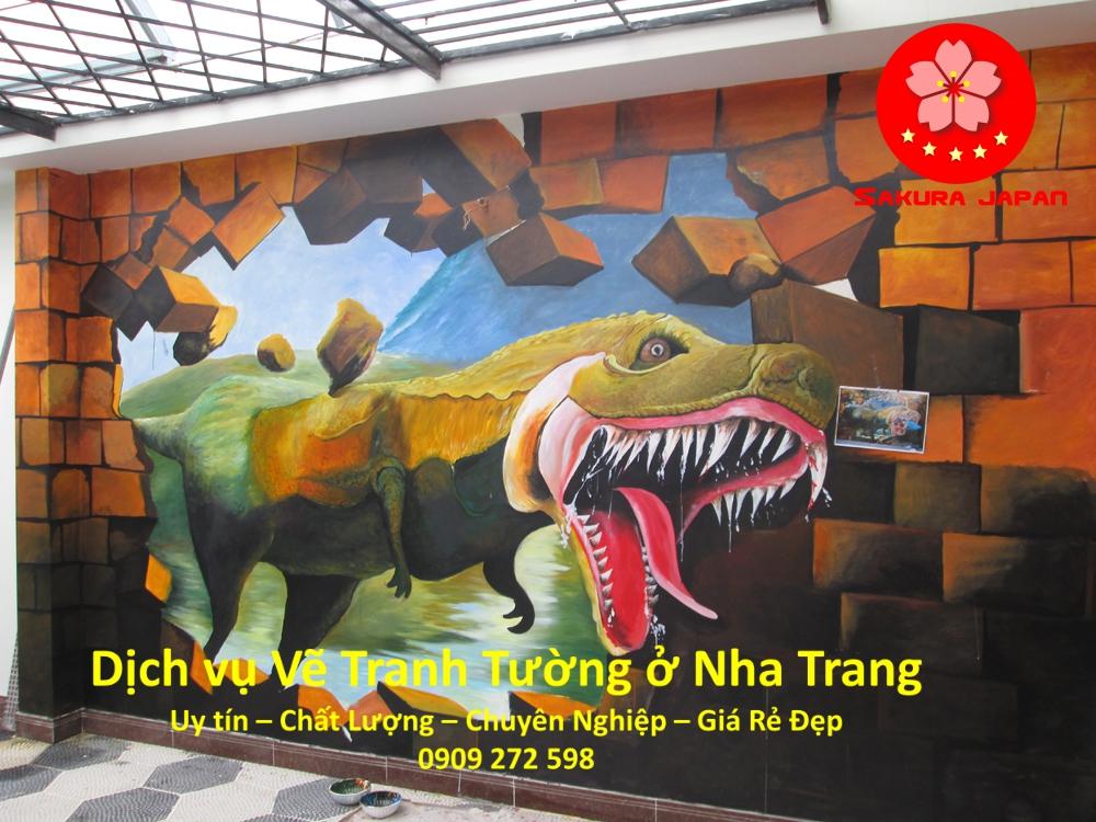 Dịch vụ Vẽ Tranh Tường Nha Trang Rẻ Đẹp Uy Tín