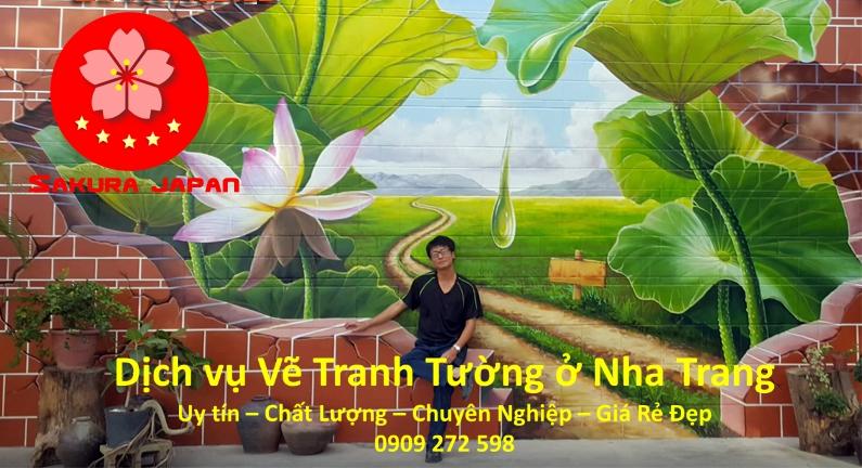 Vẽ Tranh Tường ở Nha Trang Uy Tín Giá Rẻ