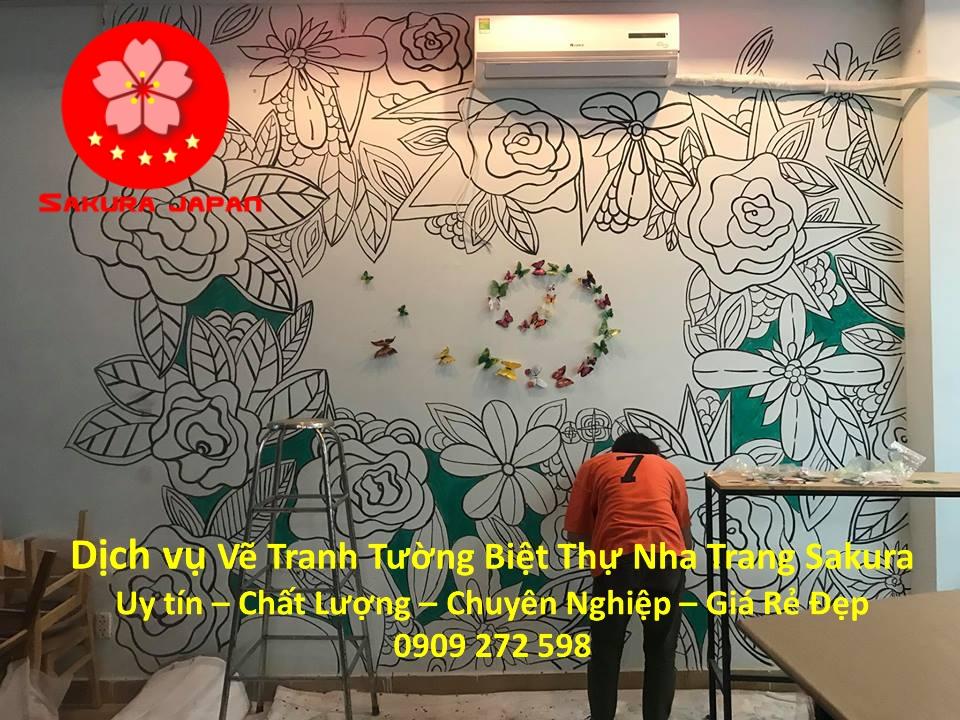Thư Viện Dịch vụ Vẽ Tranh Tường Nha Trang