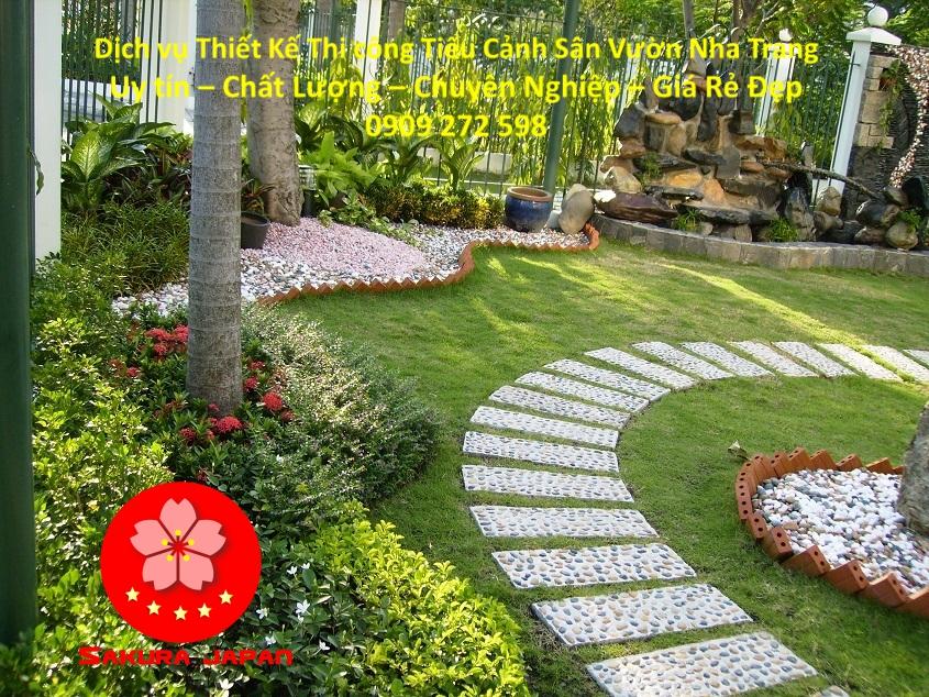 Làm Tiểu Cảnh Sân Vườn Nha Trang