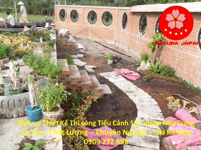 Làm Tiểu Cảnh Sân Vườn Nha Trang Đẹp Nhất 4