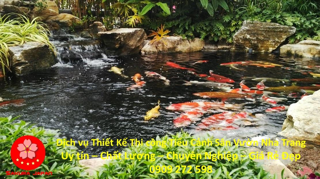 Dịch vụ Thiết Kế Thi Công Sân Vườn Nha Trang