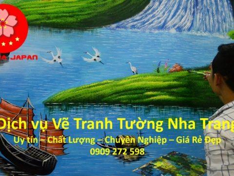 Video Vẽ Tranh Tường Nha Trang