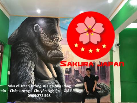 Mẫu Vẽ Tranh Tường 3D Nha Trang