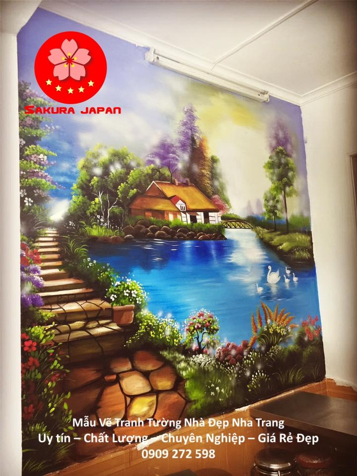 Mẫu Vẽ Tranh Tường Nhà Nha Trang 4