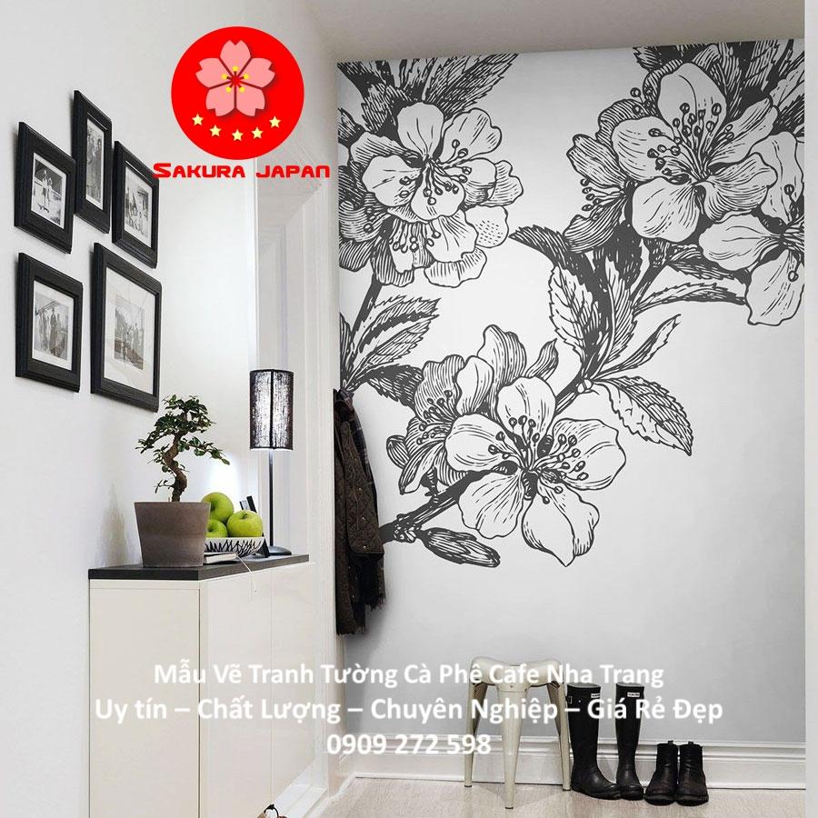Mẫu Vẽ tranh Tường Cafe Nha Trang 15