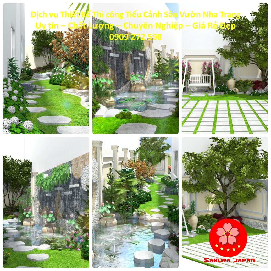 Làm Tiểu Cảnh Sân Vườn Tại Nha Trang Đẹp Nhất