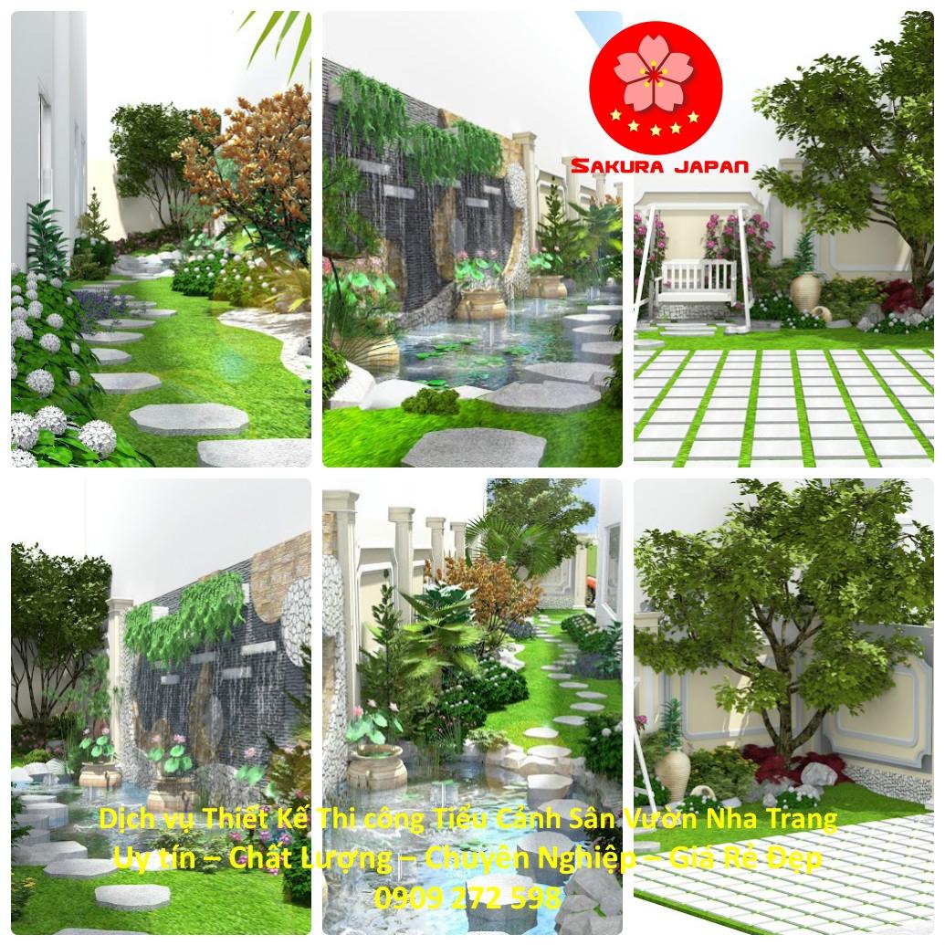 Thiết Kế Thi Công Sân Vườn Nha Trang Rẻ Đẹp Nhất 4