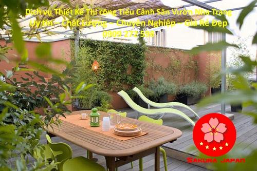 Thi công Tiểu Cảnh Sân Vườn Nha Trang Đẹp Nhất 10
