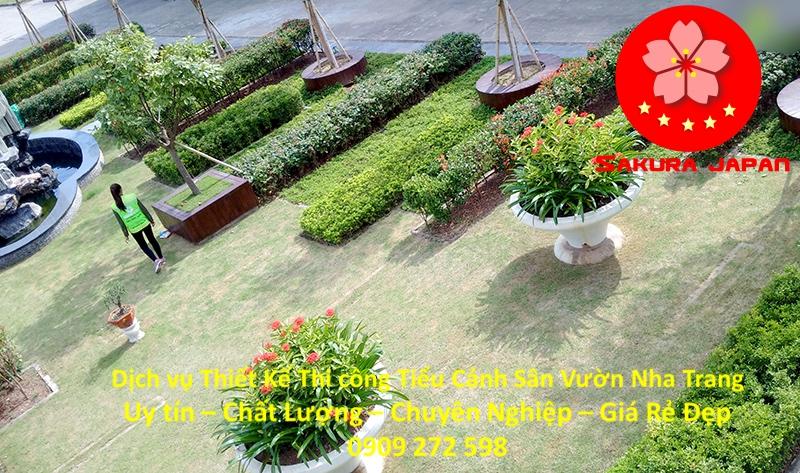 Thiết Kế Thi Công Sân Vườn Nha Trang Chuyên Nghiệp