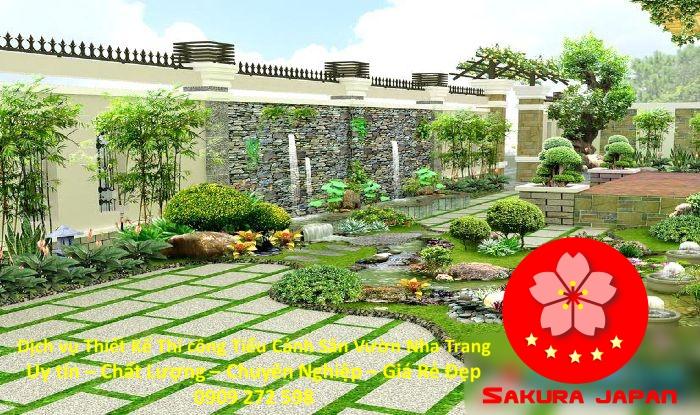Thiết Kế Thi Công Sân Vườn Nha Trang Rẻ Đẹp Nhất 5