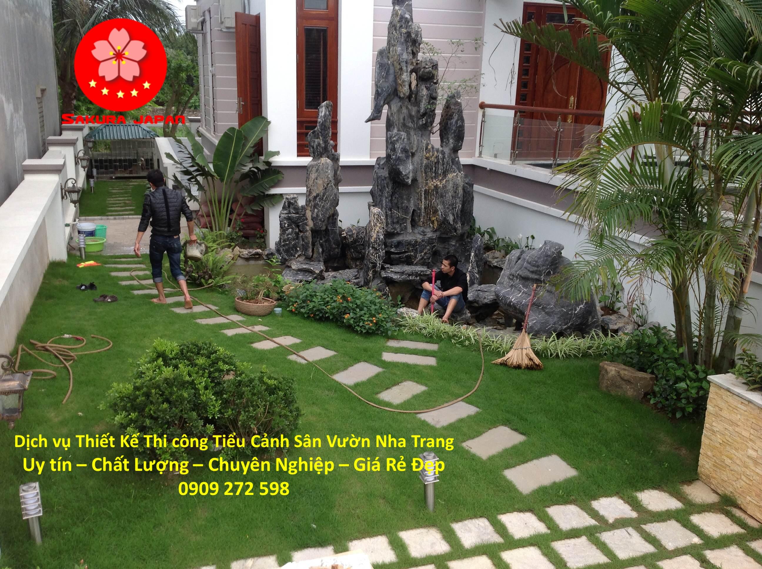 Thiết Kế Thi Công Sân Vườn tại Nha Trang Đẹp Nhất