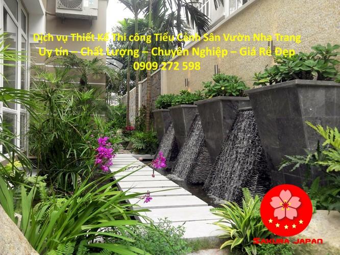 Thi công Tiểu Cảnh Sân Vườn Nha Trang Đẹp Nhất 9