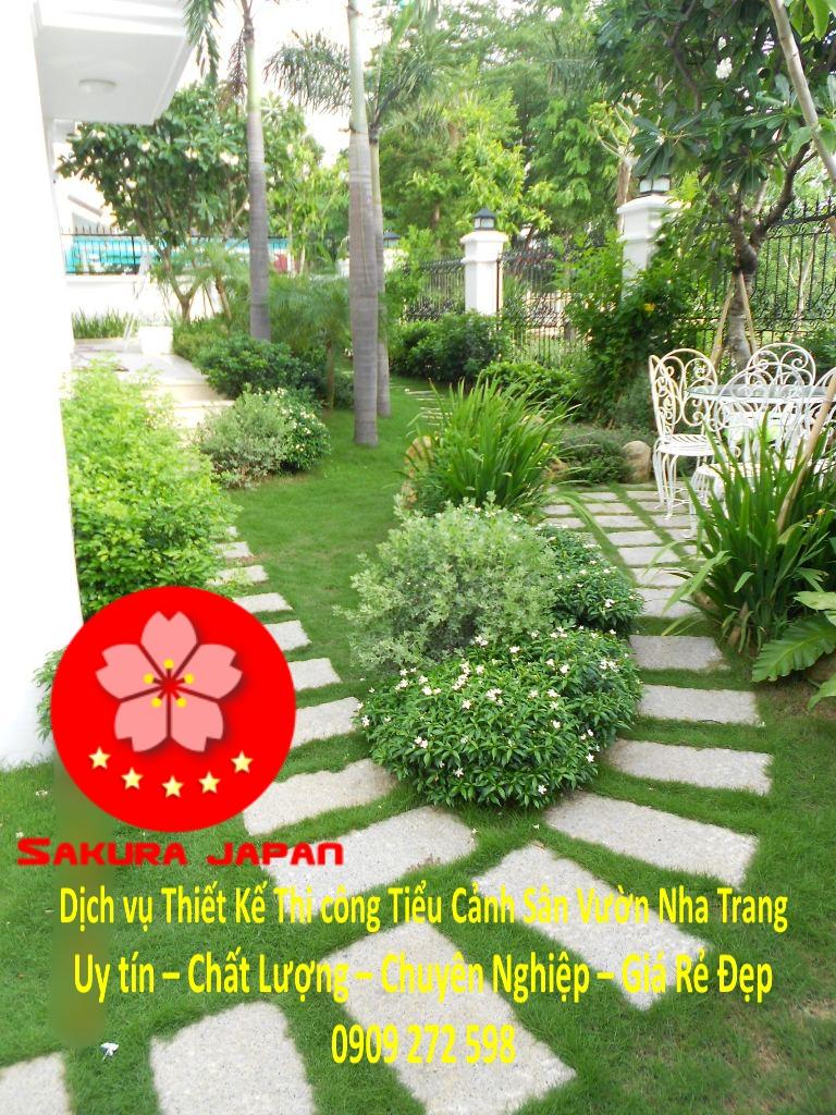 Thiết Kế Thi Công Sân Vườn Nha Trang Rẻ Đẹp Nhất 9