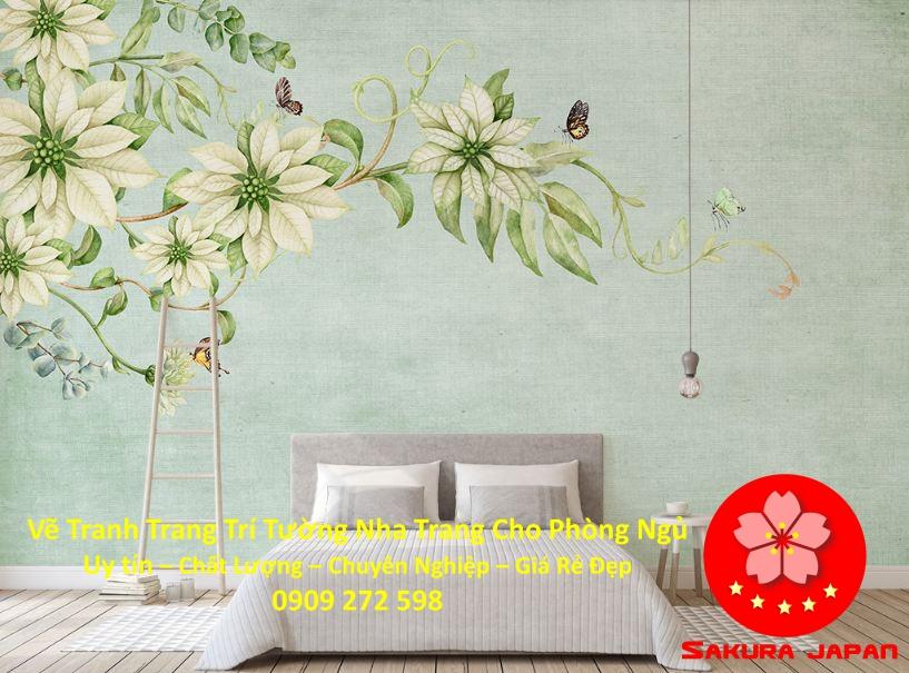 Vẽ Tranh Tường Nha Trang Cho Phòng Ngủ Rẻ Đẹp Nhất 5