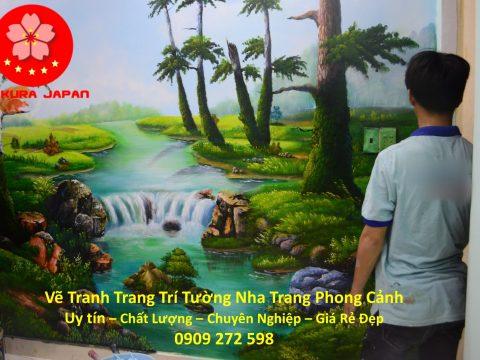 Vẽ Tranh Tường Nha Trang Hình Phong cảnh