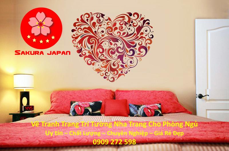 Vẽ Tranh Tường Nha Trang Cho Phòng Ngủ Rẻ Đẹp Nhất 4