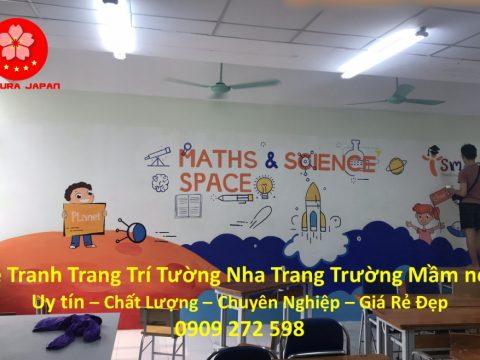 Vẽ Tranh Tường Nha Trang Cho Trường Mầm non