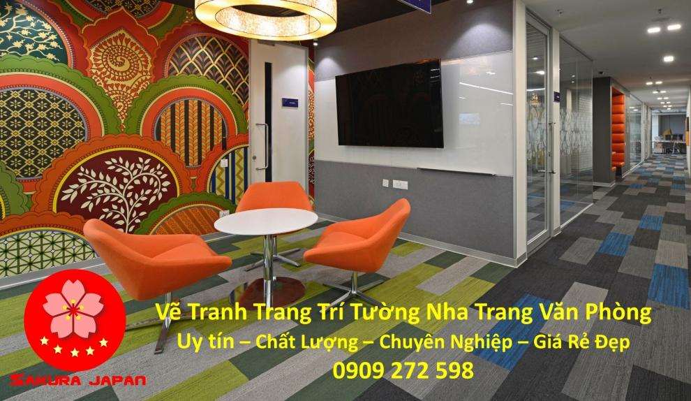 Vẽ Tranh Tường Nha Trang Cho Văn Phòng Rẻ Đẹp Nhất