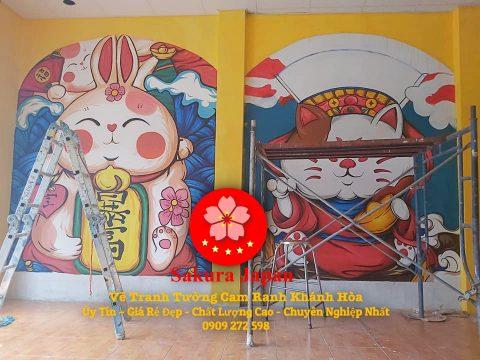 Vẽ Tranh Tường Cam Ranh Khánh Hòa
