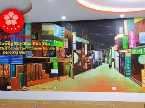 Vẽ Tranh Tường Tuy Hòa Phú Yên
